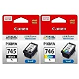 Canon Ink Cartridge Black and Colour  PG 745s   CL 746s