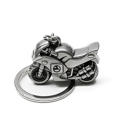 Porte-clés en Acier Inoxydable en Alliage de Zinc Porte-clés en Moto 3D Sportbike (SPK001) low-cost
