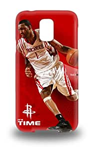 Galaxy S5 3D PC Case Cover NBA Houston Rockets Tracy McGrady #1 3D PC Case Eco Friendly Packaging ( Custom Picture iPhone 6, iPhone 6 PLUS, iPhone 5, iPhone 5S, iPhone 5C, iPhone 4, iPhone 4S,Galaxy S6,Galaxy S5,Galaxy S4,Galaxy S3,Note 3,iPad Mini-Mini 2,iPad Air )