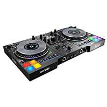 Hercules DJControl Jogvision USB DJ controller for Serato with in-jog displays and AIR controls