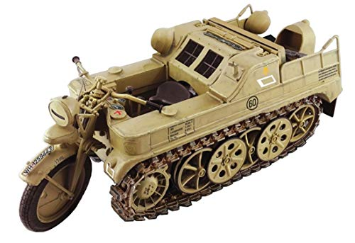 Italeri 7404 Kettenkrad WWII Military Vehicle 1/9 Scale Model Kit