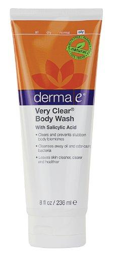 дермы электронной Natural Bodycare очень ясно проблемной кожи Body Wash, 8 унций бутылки