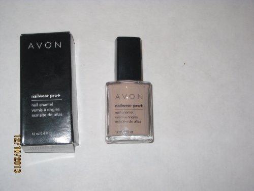 Avon Nailwear Nail Enamel - Avon Nailwear Pro+ Nail Enamel Barefoot Beige