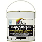Blackboard Paint - 2.5 Litre Water-based, non-toxic, weather-proof