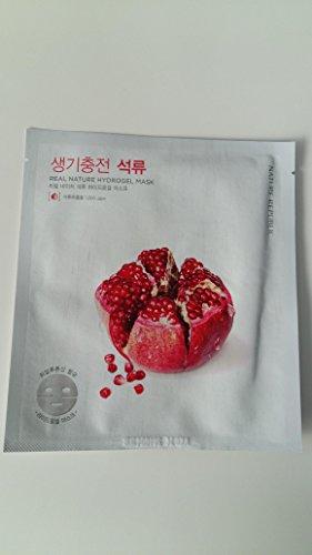Nature Republic POMEGRANATE Aqua Gel  Sheet Mask - 4 Pack