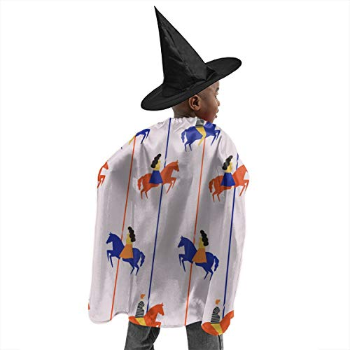 Trojan Halloween Wizard Costumes Witch Cloak with