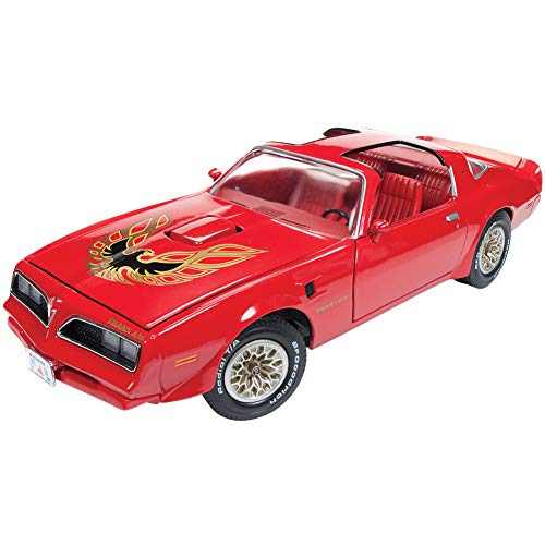 1977 Pontiac Firebird Trans Am Buccaneer Red Limited Edition to 1,002 Pieces Worldwide 1/18 Diecast Model Car by Autoworld AMM1160