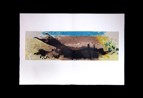 Georges Braque (1882-1963) Lithograph | Charrue | Double Lithograph | Numbered Limited Edition n186; out of 350 | Signed in the matrix - Braque Lithograph
