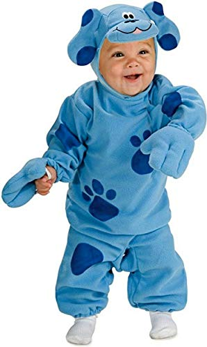 Nickelodeon Toddler Blue's Clues Romper And Headpiece, Blue Print, 6-12 Months -