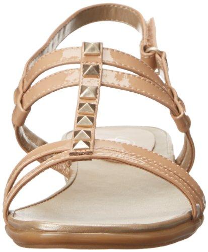 Easy Spirit Karessa gladiador sandalias de la mujer gris pardo charol