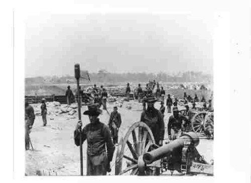 Civil War Cannon Pictures - Photo of Civil War Artillery Bunker & Cannon