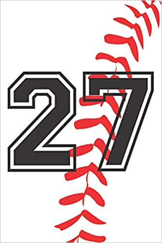 Amazon.com: 27 Journal: A Baseball Jersey Number #27 Twenty Seven ...