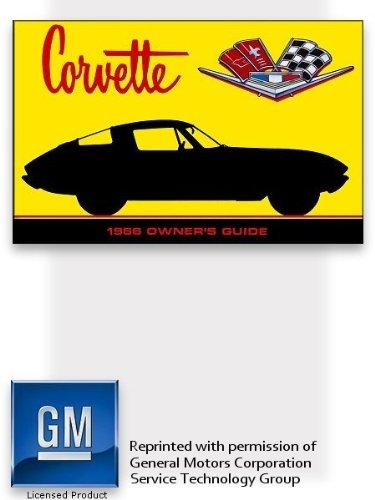 1966 Chevrolet Corvette Owner's Manual (1966 66 Chevy Corvette)