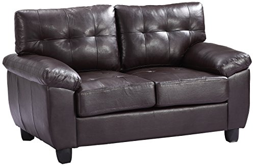 Glory Furniture G905A-L Living Room Love Seat, Cappuccino