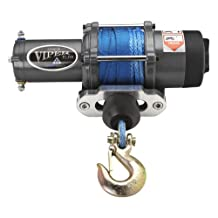 Viper Elite 5000lb ATV Winch & Custom Mount for Honda Rancher 420 4x4 with BLUE AmSteel®-Blue synthetic rope