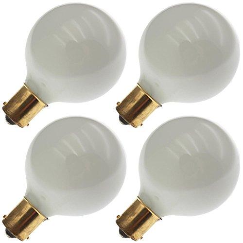 Industrial Performance 13G16.5/W/SC12V, 13 Watt, G16.5, Bayonet (BA15S) Base Light Bulb (4 Bulbs) (Bulb 13 Watt 12v)