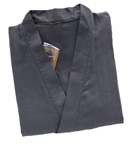 Soojun Solid Kimono Pocket Pajamas