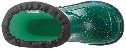 Romika Glitzy | PVC Kinder Regenstiefel | Bunte Unisex-Gummistiefel | Gefüttert und schadstofffrei Grün (Grün)