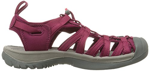 Whisper Women's KEEN Sandal Honeysuckle Beet Red 5Hpnqzxfp