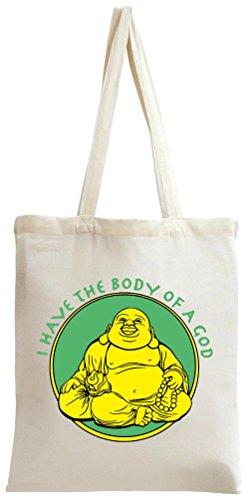 Shopping Una Dio Stampata Ho Corpo Il Bag Di Personalizzato Borsa qanIAwS