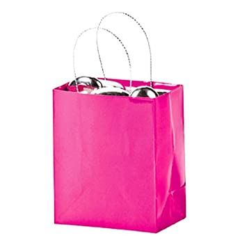 Amazon.com: Mini Hot Pink Gift Bags (2 dz): Home & Kitchen
