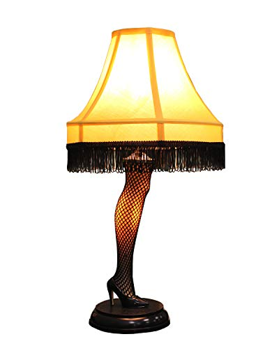 A Christmas Story 20 inch Leg Lamp Prop Replica by NECA | Holiday Gift |Desk Lamp | Same lamp used in movie (Gifts From Home Made Kids Christmas)