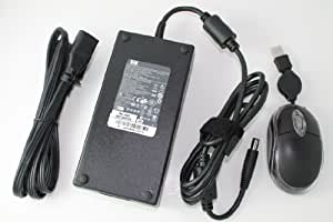 HP Original 180W AC Adapter For HP Notebook Model Numbers: HP Pavilion HDX9200 CTO Notebook PC, HP Pavilion HDX9201TX Notebook PC, HP Pavilion HDX9201XX Notebook PC, HP Pavilion HDX9202XX Notebook PC, HP Pavilion HDX9203KW Notebook PC, HP Pavilion HDX9203TX Notebook PC. 100% Compatible With HP Part Number: PA-1181-02, HSTNN-LA03, 463558-001, AK875AA, GL690AA, 463952-001, 448160-001, 393948-002, 397804-001, AK875AA#ABA, 411812-001, KG640AV, KG640AV#ABA. Bundle - 3 items: AC Adapter, Power Cord and MegaPlus Optical Mouse - Black.