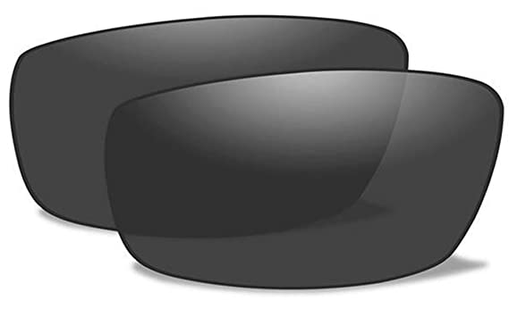 b6098ff1a6 Wiley X WX SAINT Authentic Replacement Lenses (Non-Polarized Smoke Grey Lens )