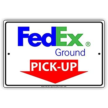 Fedex Pickup Fee >> Amazon Com Fedex Ground Mail With Graphic Pick Up Here