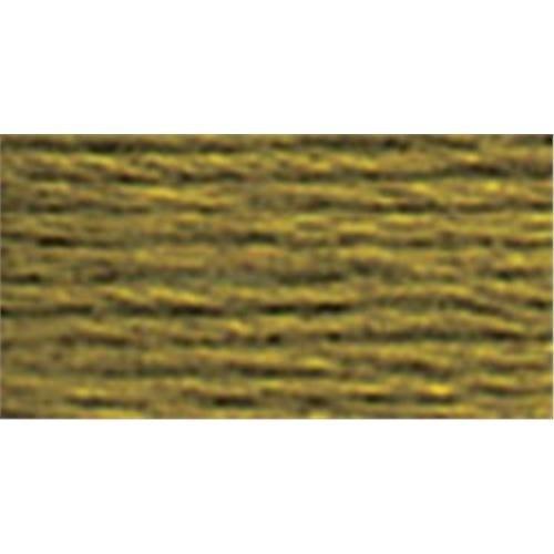 DMC 真珠コットンかせサイズ 3 16.4 ヤード-オリーブ グリーン B00267087U