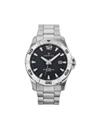 Certus Men's Black Dial Date Watch