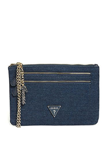 GUESS Factory Women's Celesta Logo Wristlet by GUESS Factory