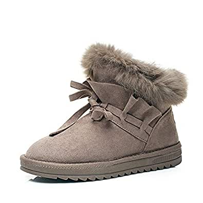 Amazon.com | T-JULY Woman Snow Boots Ankle Fur Warm Winter