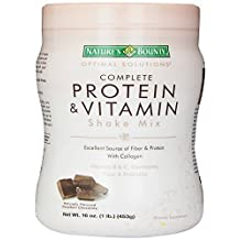 Nature's Bounty Chocolate Flavored Protein Shake Mix, 16 Oz/1 lb by Nature's Bounty