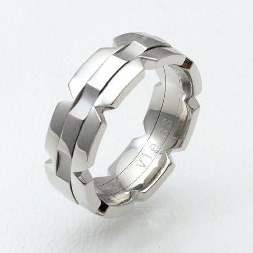 [スポンサー プロダクト][ヴィー] vie ステンレス ターンリング/プレーン/7号 vie-R1120-07