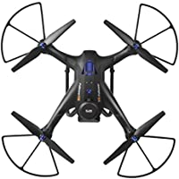 Clearance ! 6 Axis Gyro- Vanvler X183S 5G 1080P Wifi Fpv Camera GPS Drone LED Follow Me Large RC Quadcopter (Black)
