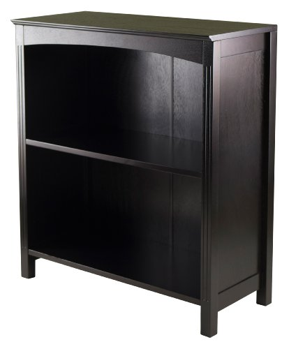 Winsome Terrace Storage Shelf 3-Tier Wide in Espresso, 26-Inch by Winsome