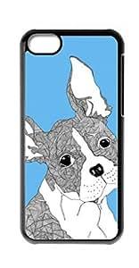 HeartCase Hard Case for Apple iPhone 5C ( Bulldog Dog )