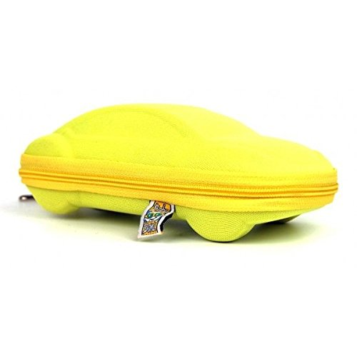 Baby Banz Sunglass Case - Yellow Car - One ()
