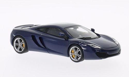 autorización oficial McLaren MP4-12C, met.-azul , 2011, Model Coche, Ready-made, Ready-made, Ready-made, AutoArt 1 43 by AUTOart  seguro de calidad