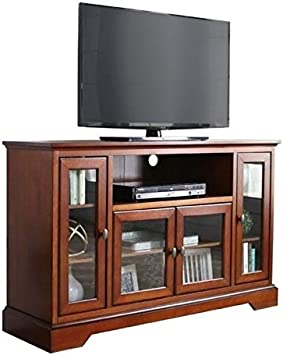 Pemberly Row 44 TV Stand in Brown