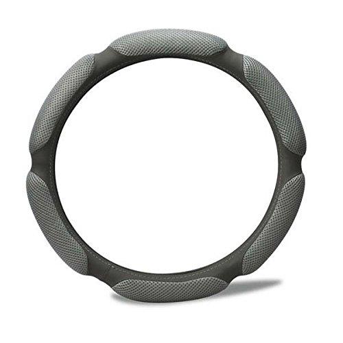 Rayauto Steering Wheel Cover -Odorless, Cooler Hands in Summer, Warmer Hands in Winter (Grey)