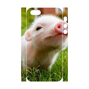 EZCASE Little Pig Phone Case For iPhone 5,5S [Pattern-1]