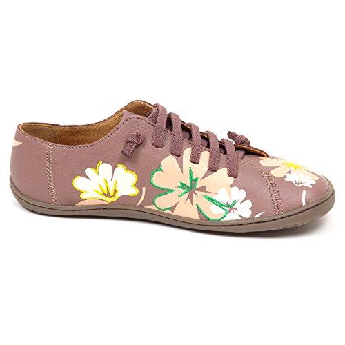 Donna Camper uden Boks Multicolore E6108 Kvinde Scarpe Tvillinger Floreal Sneaker Sko ItwFd