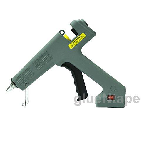 LOW TEMP Glue Gun, Glue Sticks, 1/2'', Professional, 100 Watt (INCLUDES 10 FREE GLUE STICKS) by GlueNTape