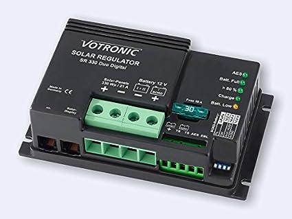 VOTRONIC R/égulateur Solaire SR 140/Duo Dig.
