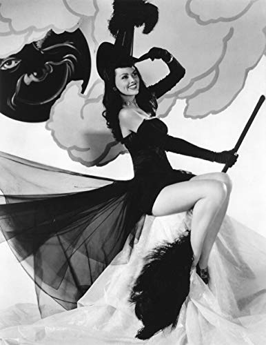 (SAVA 199576 Halloween Pin up Girl Witch Decor Wall 36x24 Poster)