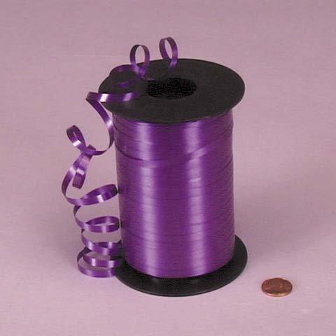 Purple Curling Ribbon, 3/16
