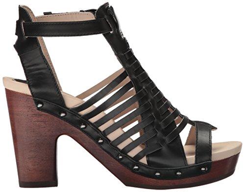 Des Plate forme Valentina Robe Plate Sandale Jambu Femmes Noir forme 4HT0wSq