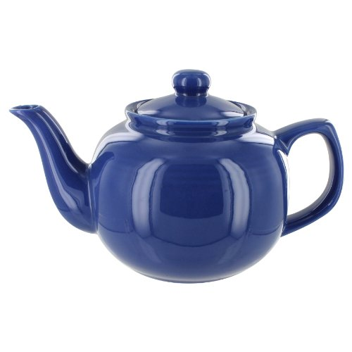 EnglishTeaStore Brand 6 Cup Teapot (Blue)